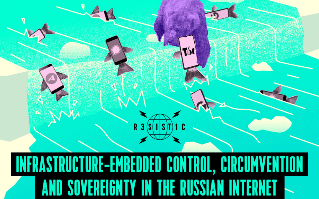 Infrastructure-embedded control, circumvention and sovereignty in the Russian Internet